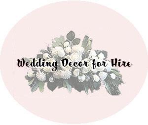 Wedding Decor For Hire Ballarat