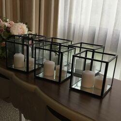 Black Frame Holders 10cm square.